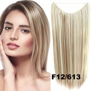 Flip in vlasy - 55 cm dlouhý pás vlasů - odstín F12/613 - Světové Zboží