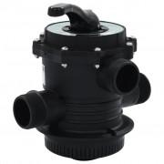 vidaXL Soupape à multi-voies pour filtre à sable ABS 1,5