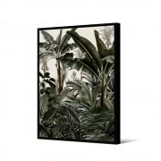 Pôdevache Abuku - Toile imprimée jungle 92,5x65cm - Couleur - Vert