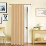Story@Home Cream Premium Blackout Eyelet 1 pc Door Curtain-DBK5003