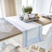 LOBERON Tafelloper Shambrook / beige/blauw