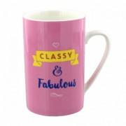 Cana de portelan cadou Fabulous&Classy