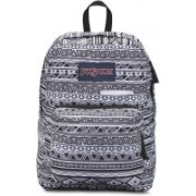 JanSport Digibreak 25 L Laptop Backpack(White, Black)