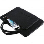 EY Felt Laptop Bag Maletín Para Portátil 11/13/14/15 Pulgadas Impermeable Bolsa-Genérico