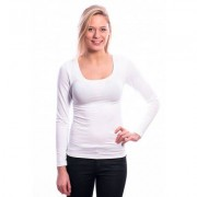 Ten Cate Women Longsleeves Shirt (30200) White - Wit - Size: Large