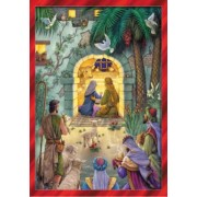 Advent Calendar Peaceful Nativity Scene