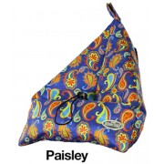 Book Seat Boekenpoef – tabletpoef Paisley | The Book Seat