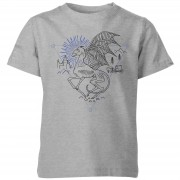 Harry Potter Camiseta Harry Potter Thestral - Niño - Gris - 3-4 años - Gris