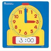Ceas de masa sablon Learning Resources, 30.5 cm, 5 - 9 ani