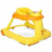 Бебешка 3 в 1 проходилка - Baby Walker 123 - оранжева, 2522080
