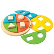 Skillofun Exploring Fractions - Circle, Multi Color