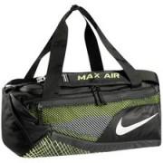 Nike Sporttas Vapor Max Air Duffel S - Zwart/Neon/Zilver