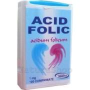 Acid Folic 1 mg, 100 comprimate