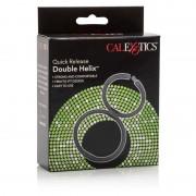 Cal Exotics Double Helix Cock Ring Black 0513342