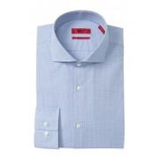 BOSS Jason Check Slim Fit Dress Shirt OPEN BLUE