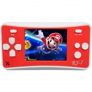 RS - 1 Retro Videoconsola Portatil De 8 Bits, Color Verdadero Pantalla LCD De 2,5 Pulgadas, Construido En 152 Tipo Juegos (rojo)