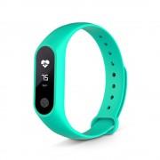 Brățară inteligentă m2s verde -monitor de ritm cardiac pentru Android și IOS.