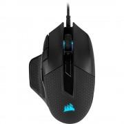 Mouse, Corsair NIGHTSWORD RGB Performance Tunable, Gaming, FPS/MOBA, RGB LED, USB, Black (CH-9306011-EU)