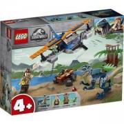 Конструктор Лего Джурасик свят - Велосираптор: спасителна мисия с биплан - LEGO Jurassic World, 75942