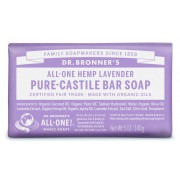 Dr. Bronner's Bio szilárd szappan - Levendula 140g