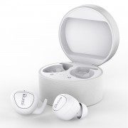 DY-18 True Wireless Stereo Earphone Realteck 5.0 Bluetooth Chipset TWS Earbuds Charging Box - White