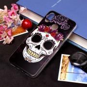 Skull Pattern Soft TPU Funda Protectora Para Huawei Nova 3i