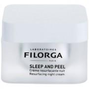 Filorga Medi-Cosmetique Sleep and Peel crema de noche reparadora para iluminar y alisar la piel 50 ml