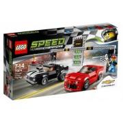 Lego Klocki konstrukcyjne Speed Champions Chevrolet Camaro Drag Race 75874