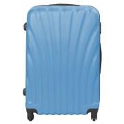 Borg Design Stor resväskor - blå - Hård abs/polycarbonat