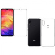 Wondrous Front and Back Impossible Screen Guard For Redmi Note 7 Pro