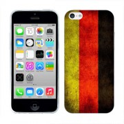 Husa iPhone 5C Silicon Gel Tpu Model Germany Flag