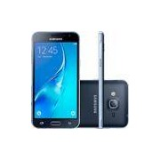 Smartphone Samsung Galaxy J3 Duos Dual Chip Android 5.1 Tela 5'' 8GB 4G Wi-Fi Câmera 8MP - Preto