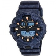 Casio G-shock Analog-Digital Black Dial Mens Watch-G759 (GA-700DE-2ADR)