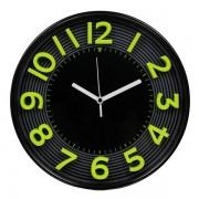 Orologio da parete 3D Methodo - 30,3 - giallo/nero - V150016 - 388238 - Methodo