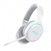 PICUN P80S Over-ear Bluetooth 4.1 Version Stereo Music Luminous Wireless Hifi Headphone - White