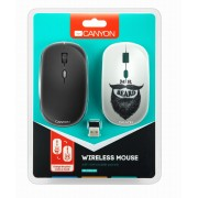 Canyon Wireless Optical Mouse with Additional Cover 1,600Dpi