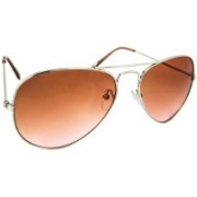 Buzz Aviator Sunglasses(Orange)