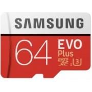 Samsung Original EVO Class 10 64 GB SD Card Class 10 100 MB/s Memory Card(With Adapter)