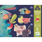Puzzle gigant Djeco animale domestice