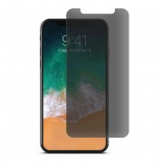 Folie sticla cu sistem de montare Case friendly Spigen GLAS.tR EZ FIT iPhone 11 Pro Max Privacy