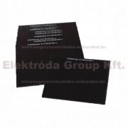 Kézipajzsba védőüveg 90x110 DIN- 8