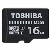 toshiba UHS-I 16GB clase 10 ultrahd tarjeta de memoria micro SD / TF - THN-M203K0160