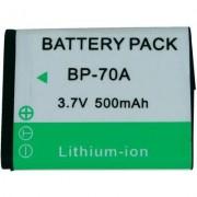 BP-70A Samsung kamera akku 3,7 V 500 mAh, (252653)