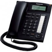 Telefon analogic Panasonic cu caller ID KX-TS880FXB Negru