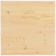 Blat de masă, 60 x 60 x 2,5 cm, lemn masiv de pin, pătrat