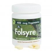DFI Folsyra 400 mcg 90 tabletter Vitaminpiller