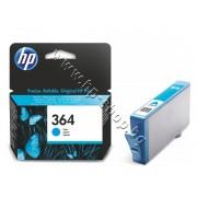 Мастило HP 364, Cyan, p/n CB318EE - Оригинален HP консуматив - касета с мастило