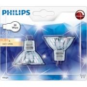 Philips Халогенна крушка Halogen spot 50 W GU5.3, 2BC/10 топла бяла светлина