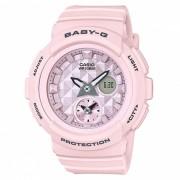reloj digital analogico estandar casio baby-g BGA-190BE-4A - rosa pastel