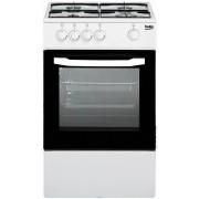 Beko Csg42000dw Cucina a Libera Installazione 4 Fuochi a Gas Forno Gas Bianco